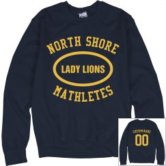 Custom I'm A North Shore Mathlete