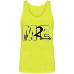 Move To Empower Unisex Jersey Neon Tank Top