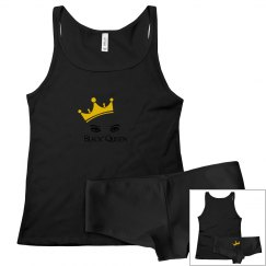 BLACK QUEEN Sleepwear Set