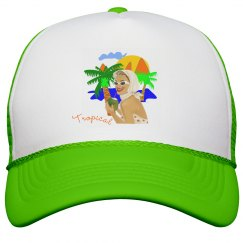 Tropical Beach Lady