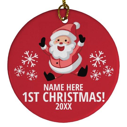 1st Christmas Santa Gift