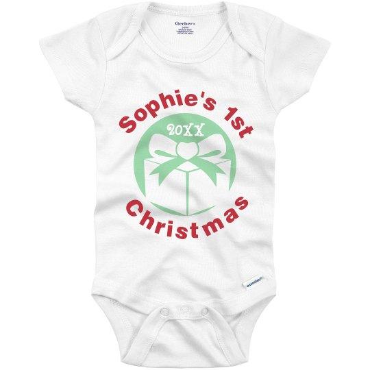 1st Christmas w/Gift