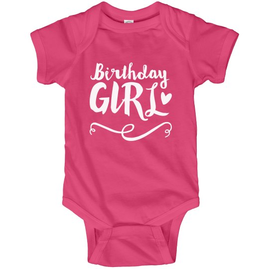 1st Custom Birthday Girl