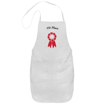 1st place adult apron