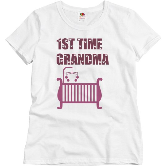 1st Time Grandma Tee