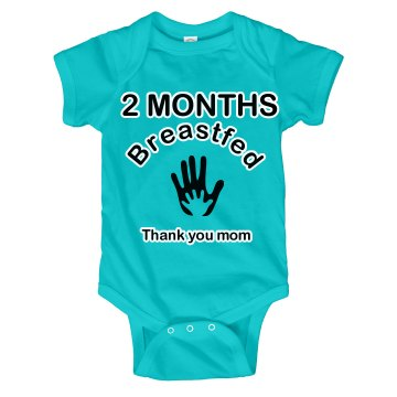 2 Months Breastfed