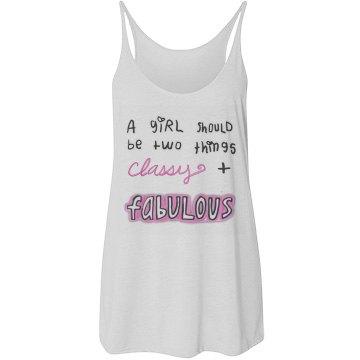 2 Things: Classy Fabulous