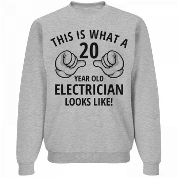 20 Year old Electrician