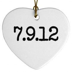 Date Ornament
