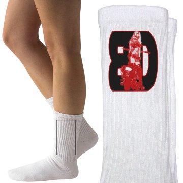 2016 logo ladies socks