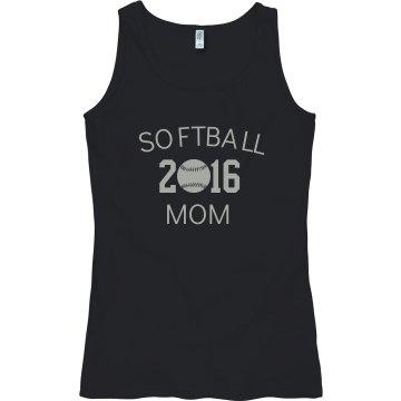 2016 softball mom
