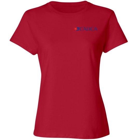 2019 Mid- Year Training Ladies T-shirt- Red