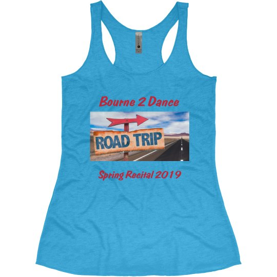 2019 Spring Recital Tank- Updated
