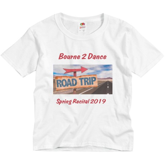 2019 Spring Recital Tee- YOUTH SIZE