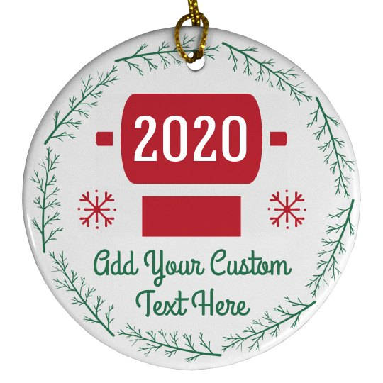 2020 Toilet Paper Custom Ornament