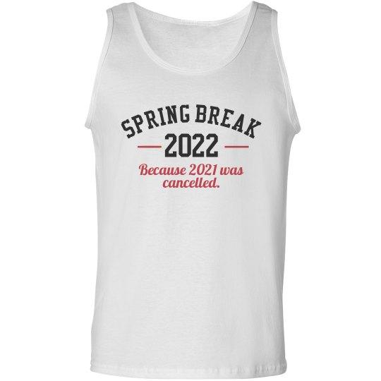2021 Spring Break Tank