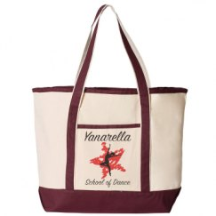 34.6L Large Canvas Deluxe Tote