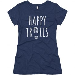 Happy Trails - White