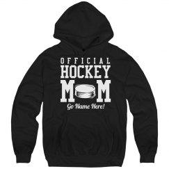 Official Hockey Mom Hoodie