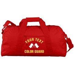 Custom Text or Name Color Guard