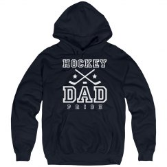 Warm Hockey Dad Pride Fleece