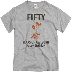 Fifty years of awesome