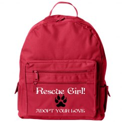 Rescue Girl Back Pack