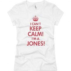 Keep Calm Jones Reunion
