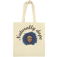 Naturally Dope tote
