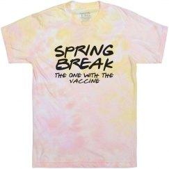 Spring Break Vaccine Tie-Dye Tee