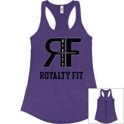 Ladies Slim Fit Racerback Tank Top Original Royalty fit