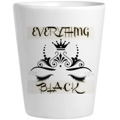 EverythingBlack Shot glass