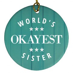 Funny World's Okayest Sister