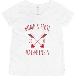Bump's First Valentine's Custom Maternity