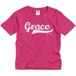 Grace personalized shirt