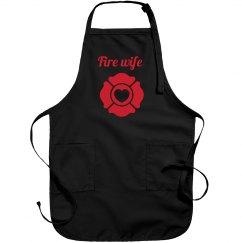 fire wife apron