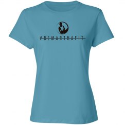 BMF logoed womens T-shirt