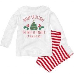 Merry Christmas Holiday Pajamas