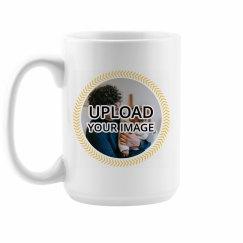 Frames Father's Day Upload Mug