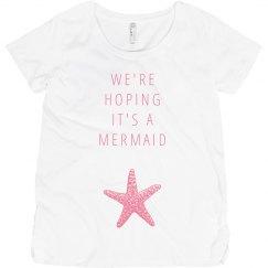 Mermaid Maternity Beach Baby
