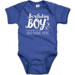 CUSTOM BIRTHDAY BOY ADD NAME