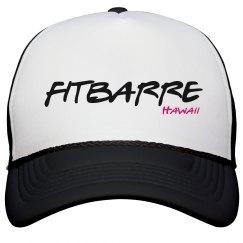 FITBARRE Trucker Hat- Black & White