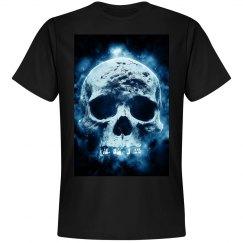 Blue must skull