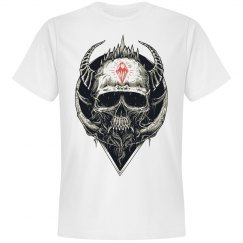 Ink'd Roses Dimond skull 1