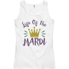 Life Of The Mardi Gras Drinking Tee