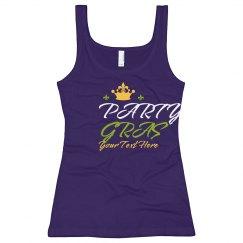 Party Gras Mardi Gras Drinking Pun