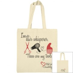 Hair Whisperer Canvas Bag