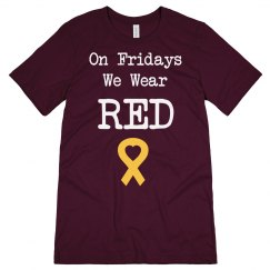 RED Friday Heart