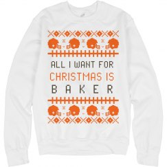 I Want Baker Mayfield for My Christmas Sweater