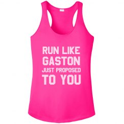 Run Like Gaston Just Proposed